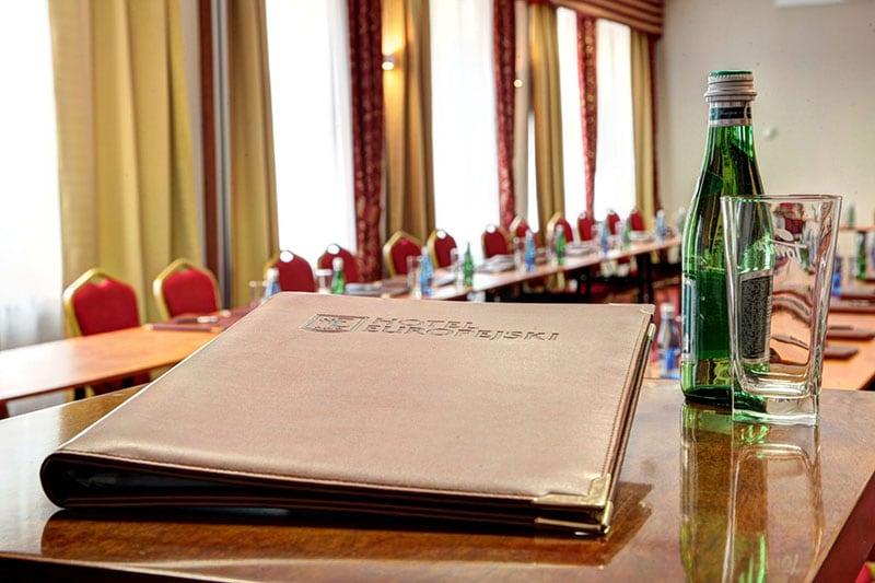 Sala konferencyjna Hotelu Europejskiego