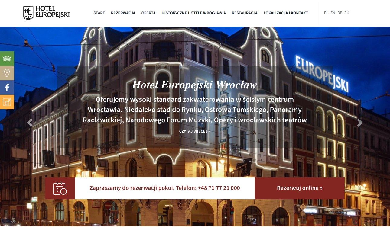 hotel wroclaw centrum