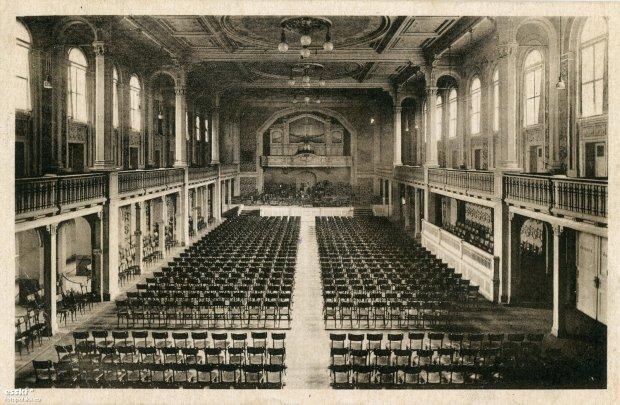 koncerthaus breslau - dom koncertowy w którym bawili się goście Hotelu Europejskiego