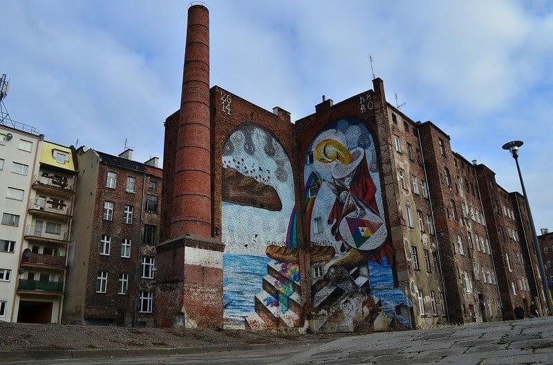 Ciekawe miejsca - spacer po wrocławskich muralach