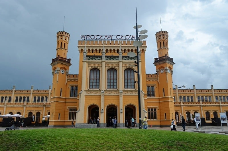 Budynek Dworca Głównego PKP we Wrocławiu