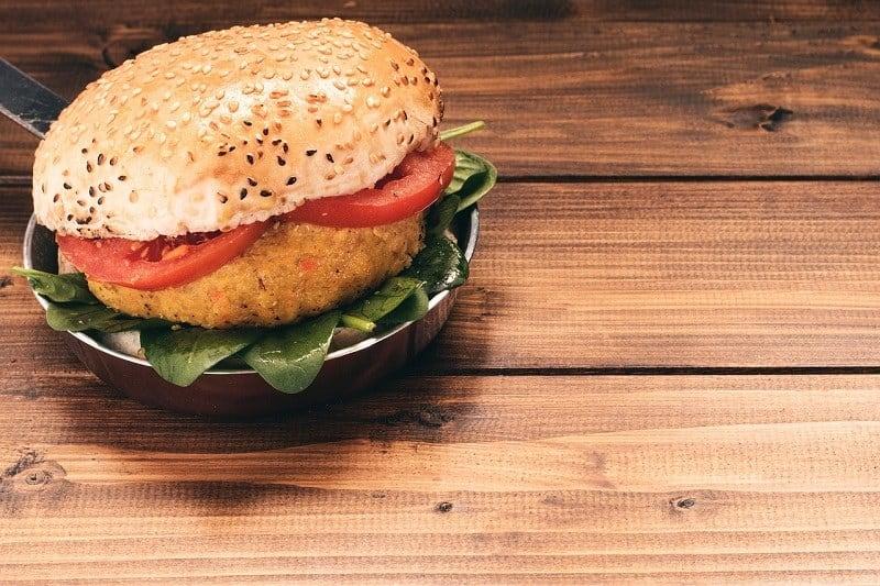 Vege Burger we Wrocławiu