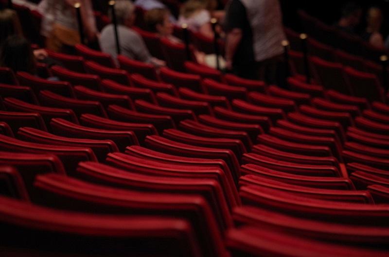 Miejsca publiczności w Teatrze Capitol we Wrocławiu