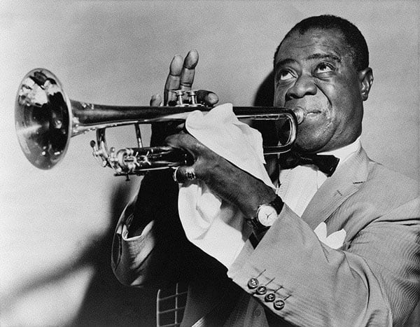 Jazzman podczas występu