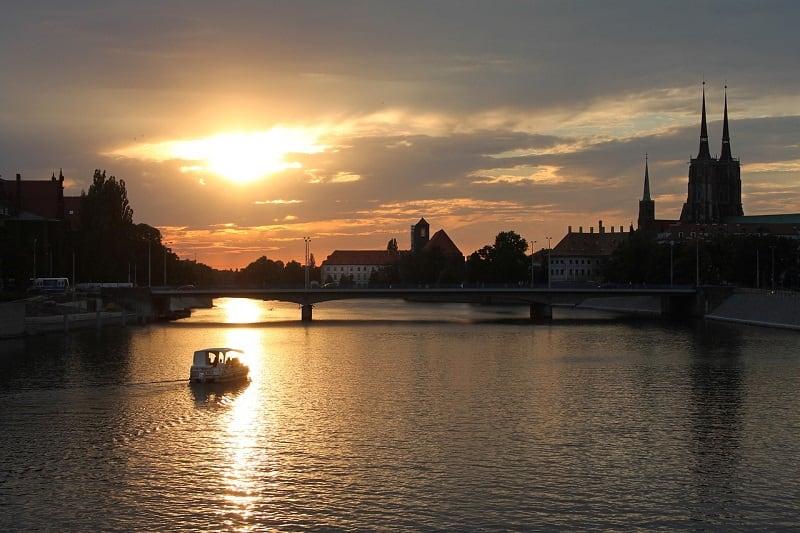 Weekend we Wrocławiu warto spędzić nad Odrą