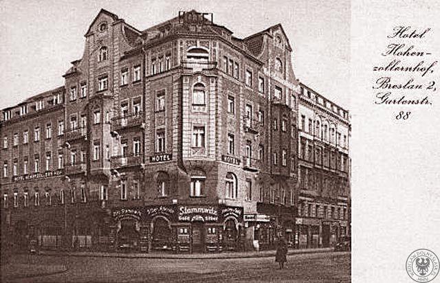 Historyczny hotel Europejski we Wrocławiu