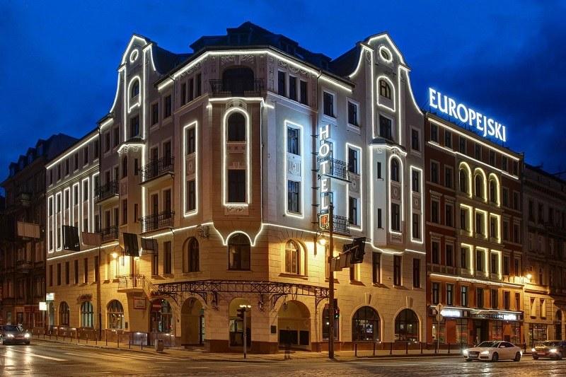 Hotel Europejski znajduje się w samym centrum Wrocławia