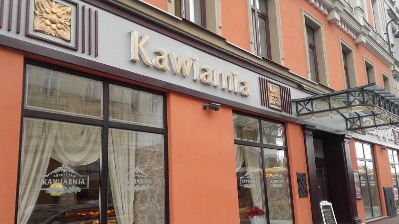 Podczas Męskiego Grania we Wrocławiu warto odwiedzić Kawiarnię Europejską