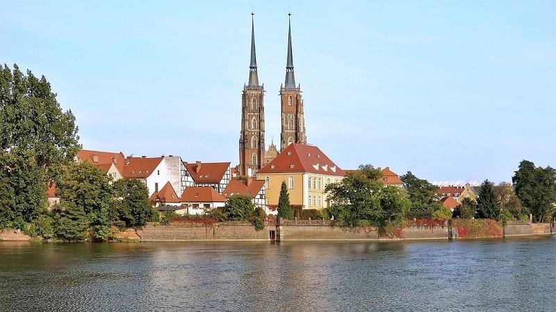 Ostrów Tumski - słynny zabytek Wrocławia