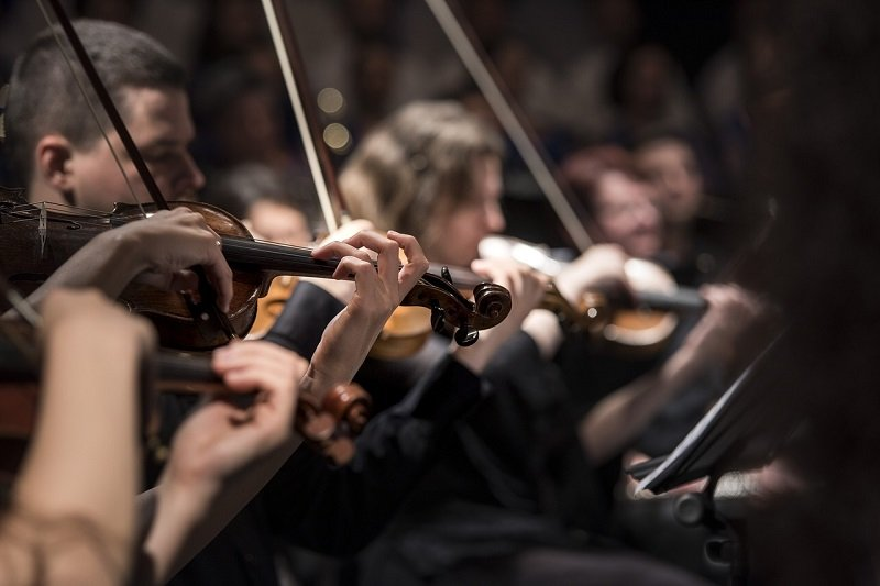 Koncert skrzypków w Narodowym Forum Muzyki