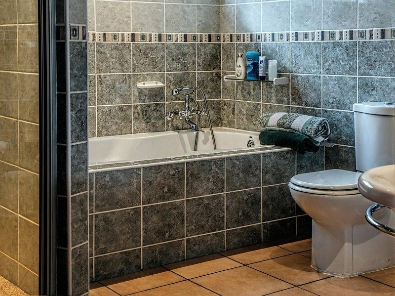 Elegancka hotelowa łazienka