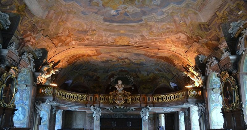 Sklepienie Auli Leopoldina we Wrocławiu