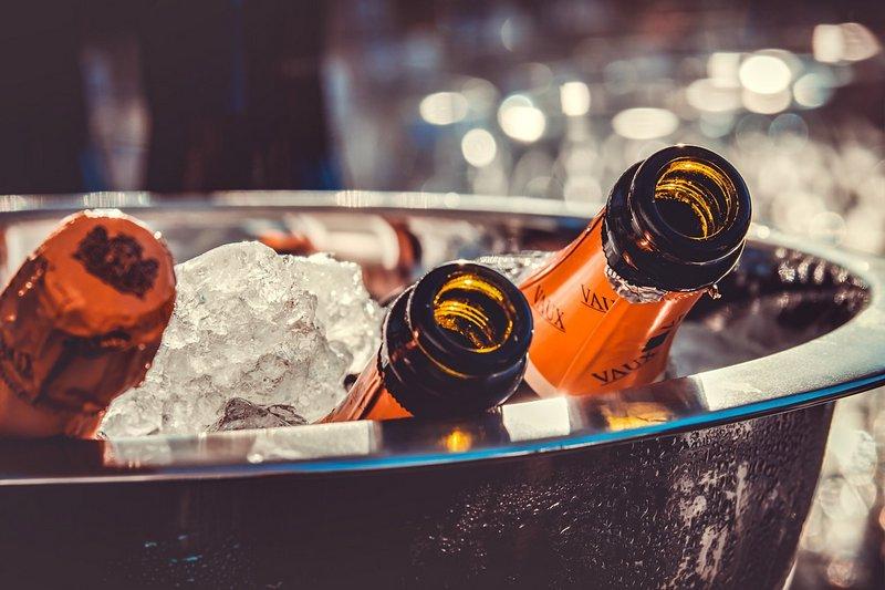 Schłodzony szampan